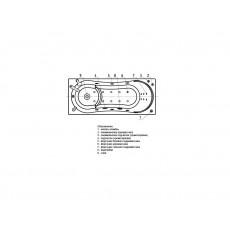 Ванна акриловая Aquatek Афродита 150*70 см