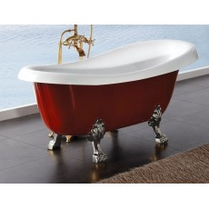 Ванна акриловая BelBagno BB04-ROS - Красный