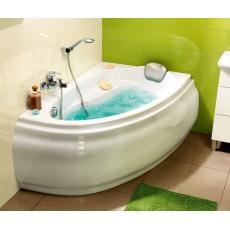 Ванна асимметричная Cersanit JOANNA 140х90 см, белая