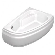 Ванна асимметричная Cersanit JOANNA, белая, 150*95 см