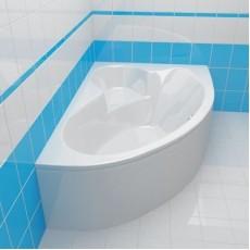 Ванна асимметричная Cersanit KALIOPE, белая, 153*100 см