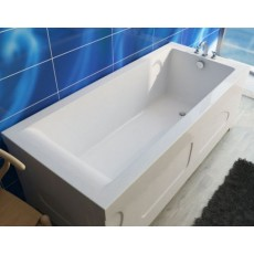 Ванна из литьевого мрамора Эстет Дельта, литьевой мрамор, 150*70 см