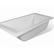 Ванна из литьевого мрамора Эстет Дельта 2-0004, литьевой мрамор, 180*80 см