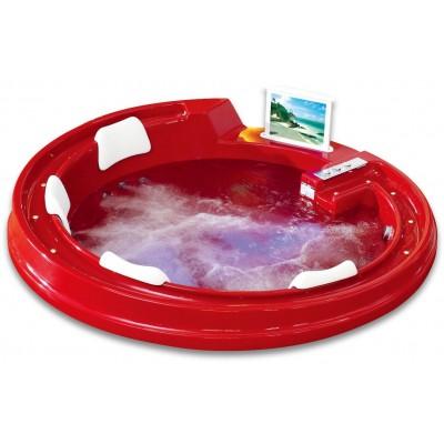 Акриловая ванна Gemy G9090 O Red