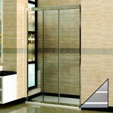 Душевая дверь в нишу RGW Classic CL-11 (950-1000)х1850 стекло чистое, полоски
