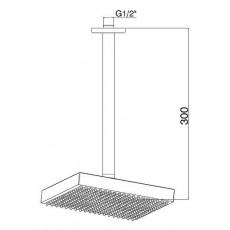 Верхний душ GPD ADS10