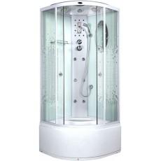 Душевая кабина NG-308-01N (900х900х2200) высокий поддон(48см) стекло МОЗАИКА