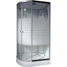 Душевая кабина NG-303-01RN (1200х800х2200) низкий поддон(16см) стекло МОЗАИКА