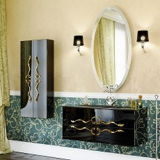 Мебель Clarberg Due amanti 100 черная Due.01.10/BLK/GL