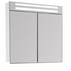Зеркальный шкаф De Aqua Эколь 75 подсветкой