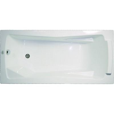 Акриловая ванна Bellrado Доминик 1600x750 С экраном