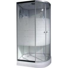 Душевая кабина NG-303-01LN (1200х800х2200) низкий поддон(16см) стекло МОЗАИКА